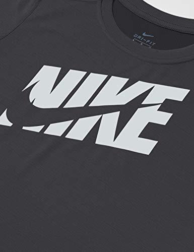 Nike Dri-Fit Swoosh Jr Black T-Shirt for Kids CJ7736-010 2