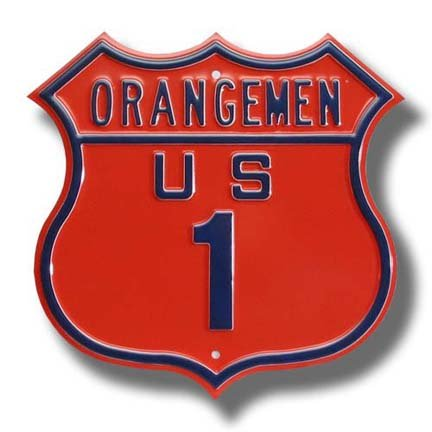 Authentic Street Signs SS-33102 Syracuse Orangemen - 1 Route Sign