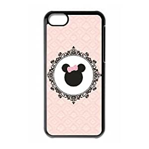 Minnie Mouse iphone 5C Cell Phone Case Black Phone Accessories JV169518