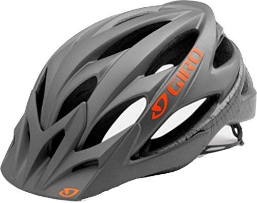 Giro Xar Helmet - Men's Matte Titanium/Flame Small