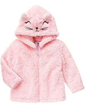 Baby / Toddler Girls Pink Polar Cub Hoodie