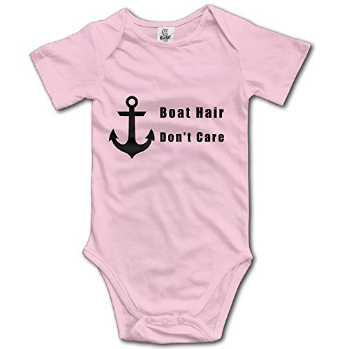 Boat Hair, Don T Care Infant Baby Romper