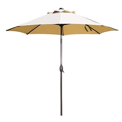 abba patio 9 feet patio umbrella market outdoor table umbrella with auto tilt and crank - Abba Patio