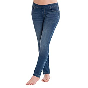 Pajama Jeans Women's Bootcut Stretch Knit Denim Juniors Jeans