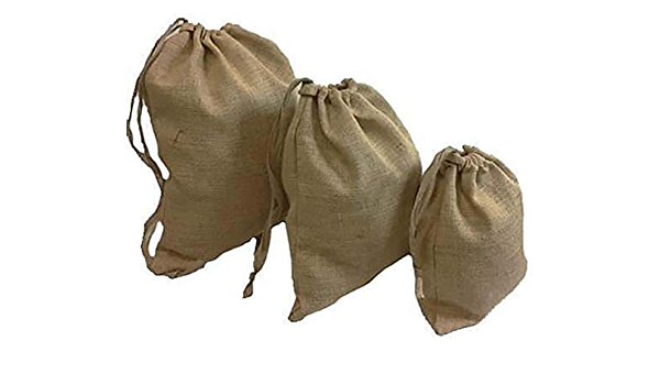 Hessian Coffee Sack Upcycled Home Storage Recycling Storage for the Kitchen. Rustic Home Decor Scandi Style Laundry Sack Toy Storage