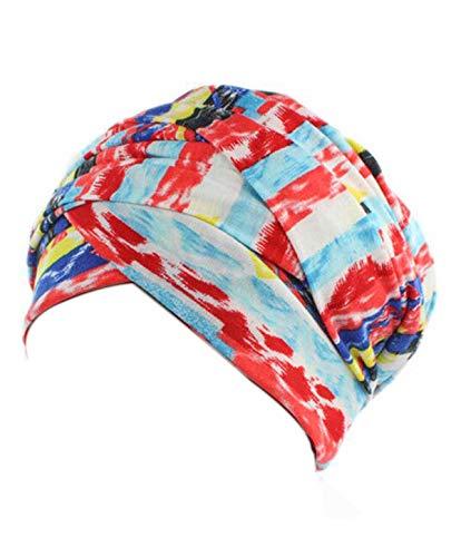 f5acd60e969 Women Turban Hat Head Wrap - Multi Colour Black African Jersey Magic  Headband Turbans Headwrap Tube