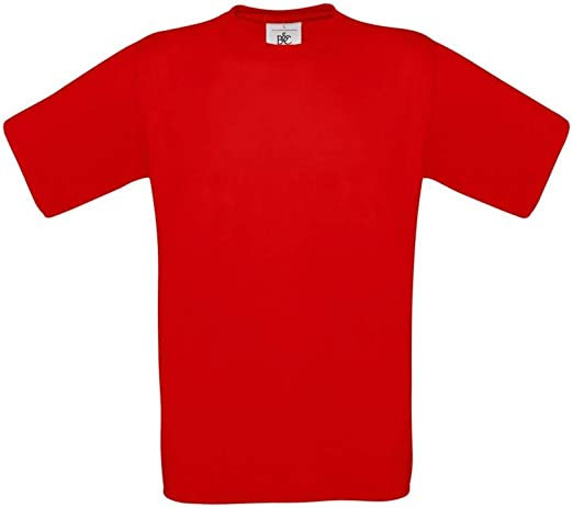 B&C - Camiseta Básica de manga corta para hombre - 100% algodon ...