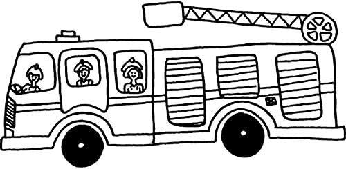 RS00001926 Azeeda A7 Feuerwehr Stempel Unmontiert