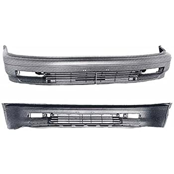 Front Bumper Cover Compatible with 1996-1997 Honda Accord Primed 4 Cyl