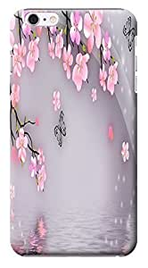 """HUAHUI Case / Cover Satura Pink Spring Flower Cherry Blossoms Special Design Distinctive Unusual Cell Phone Cases For iphone 5C ("""") Hard Cases No.12"""