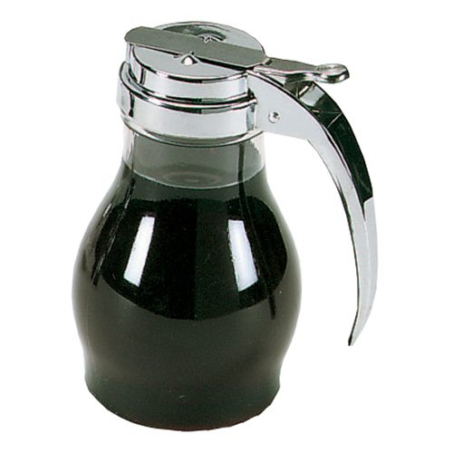 (Vollrath 1214 Dripcut Syrup Dispensers - 16 oz, Chrome Plated Top )