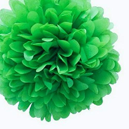 Mikash 15X Mix 3 Size 4 8 12 Tissue Paper Pom-Poms Flower Wedding Party Home Decor | Model WDDNGDCRTN - 26651 | ()