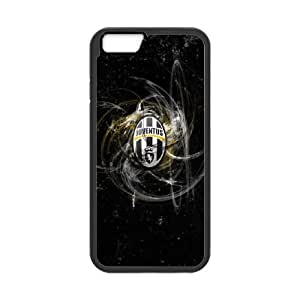 Juventus Football iPhone 6 Plus 5.5 Inch Cell Phone Case Black yyfabd-372735