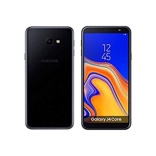 "Galaxy J4 Core (16GB) 6.0"" Display, J410G/DS, Quad Core Processor, 4G LTE Dual SIM GSM Factory Unlocked, International Version - No Warranty (Black)"
