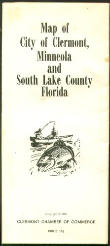 Clermont Mineola South Lake County FL Map -