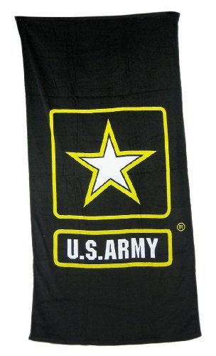 Army Beach Towel (U.S. Army Flag Cotton Beach Towel 30