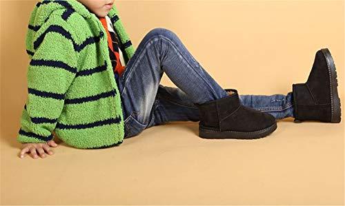 Fancyww Girls Toddler//Little Kid//Big Kid Over Knee High Winter Boots