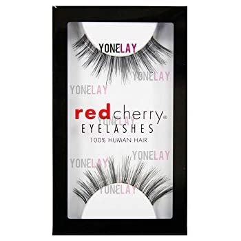 dd5a4617157 Amazon.com : Red Cherry False Eyelashes #16, Black (Pack of 6 ...