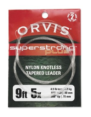 Orvis Fly Fishing - Super Strong Plus Leaders - 2p