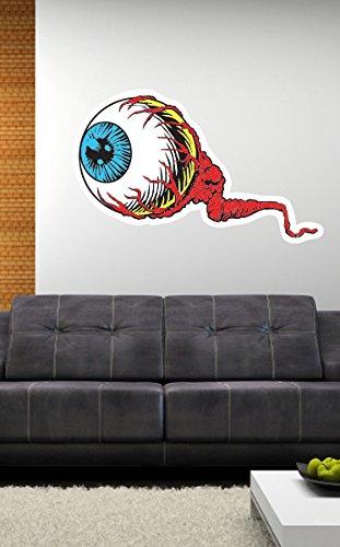 Amazon.com: Eyeball Creepy Weird Pop Art Wall Decal - 28\