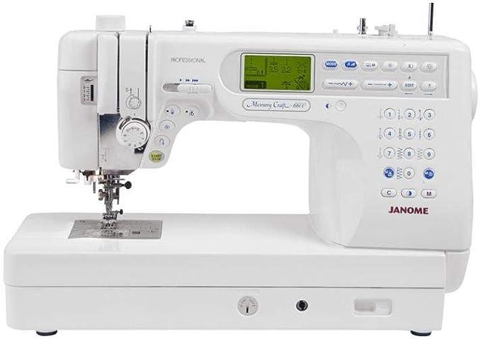 Janome Memory Craft 6600P máquina de coser computarizada ...