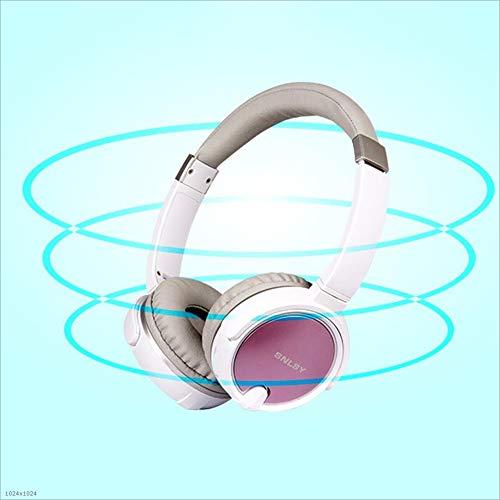 Wireless Headset, Bluetooth Headset, Wireless Deep-Ear Stereo Headset, Hi-Fi Stereo Bluetooth Headset, Foldable and Lightweight