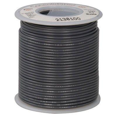 Jameco Valuepro 820-8 Stranded Hook-up Wire 100 Length UL1007 Gray 20 AWG