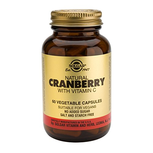 Solgar Cranberry And Vitamin C 60tabs