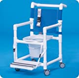 Select Line Shower Chair Commode - ESC37P - ESC37P - 38'' H x 21'' W x 25.25'' D