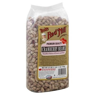 Bob's Red Mill Beans Cranberry, 27-ounces (Pack of4)