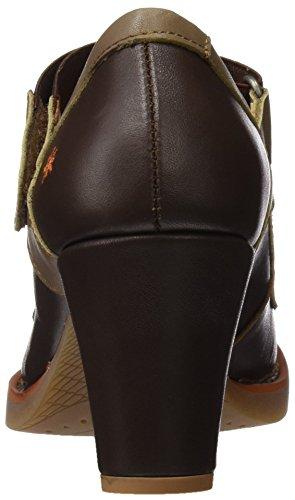 ART Damen 1071 Star St.Tropez Hohe Absätze mit Geschlossener Spitze Braun (Brown)