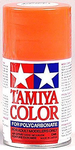 (Tamiya America, Inc Polycarbonate PS-20 Fluorescent Red, Spray 100 ml, TAM86020)
