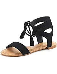 Women's Ankle Strap Gladiator Flat Sandals