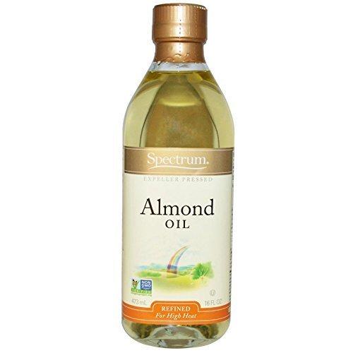 Spectrum Naturals, Almond Oil, Refined, 16 fl oz (473 ml) by Spectrum Naturals