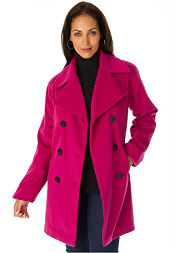 Jessica Fully Lined Peacoat - 2