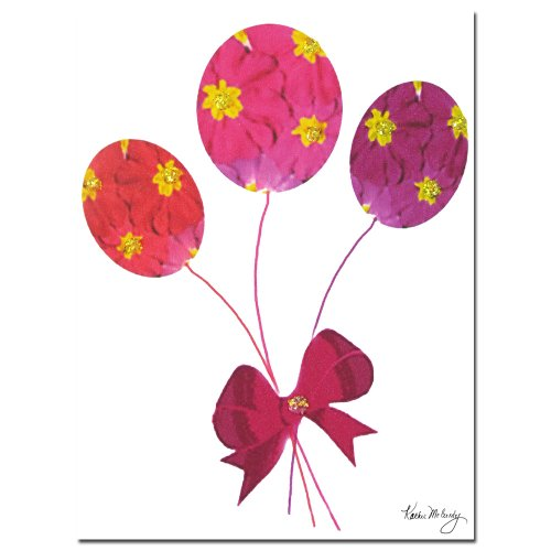 picture of Trademark Fine Art Primrose Balloons by Kathie McCurdy Canvas Wall Art, 18x24-Inch