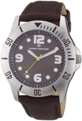 TOM TAILOR Damen-Armbanduhr Analog Leder 5406902