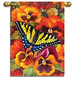 Garden Size Flag,Butterfly Dance
