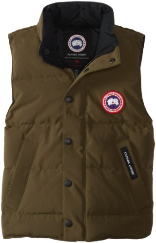 Canada Goose Youth Vanier Vest (Military Green, Small)
