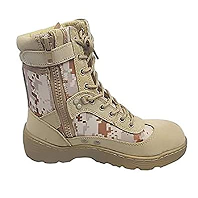 ceb82c5a5693a FLYTON Desert Sand Army Boot For Men