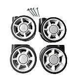 RIMOWA replacement wheels set (4 units) for carry-on of all series: Topas, Classic Flight, Original, Pilot, Salsa, Salsa Air