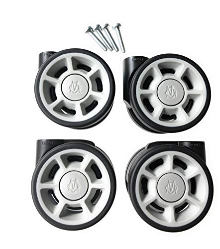 (RIMOWA replacement wheels set (4 units) for carry-on of all series: Topas, Classic Flight, Original, Pilot, Salsa, Salsa Air)