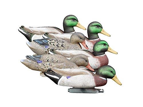 Magnum Weighted Keel Mallard Duck (Higdon Outdoors Magnum Mallard, Foam Filled, Flocked Heads)