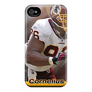 Iphone 4/4s SEB15301hJgT Allow Personal Design Trendy Washington Redskins Pictures Scratch Resistant Hard Phone Case -SherriFakhry