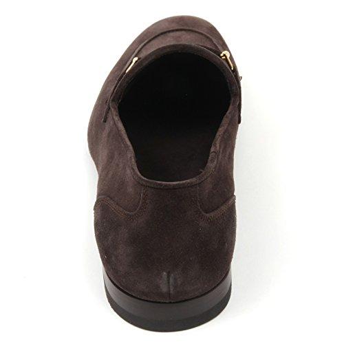 shoe scuro loafer man C3808 marrone scarpe ALTIERI MILANO mocassino uomo scuro marrone 88gqHR