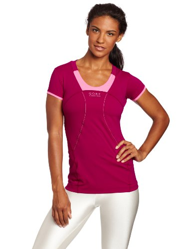 - Gore Women's Air 2.0 Lady Shirt (Small, Thai Pink/Hot Pink)