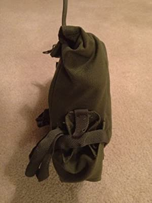 US G.I. Military Olive Drab MCU Gas Mask Bag from Government