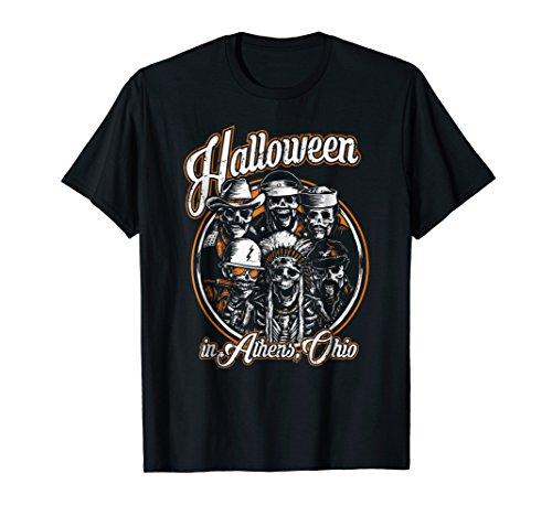 Halloween in Ohio Athens T-Shirt Athens Ohio Halloween Party