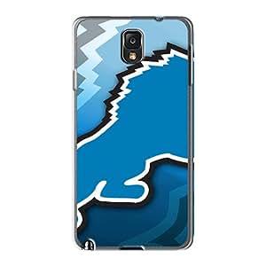 Samsung Galaxy Note 3 Akb27100curo Support Personal Customs Vivid Detroit Lions Nfl Pattern Anti-Scratch Hard Phone Covers -RandileeStewart