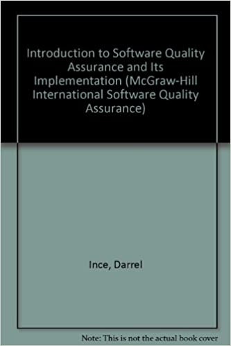 Book Introduction to Software Quality Assurance and Its Implementation (McGraw-Hill International Software Quality Assurance)
